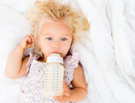 Baby Bottle Tooth Decay - Pediatric Dentist in California, MD